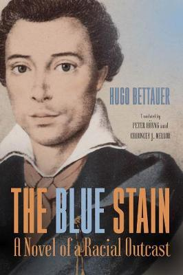 The Blue Stain by Hugo Bettauer