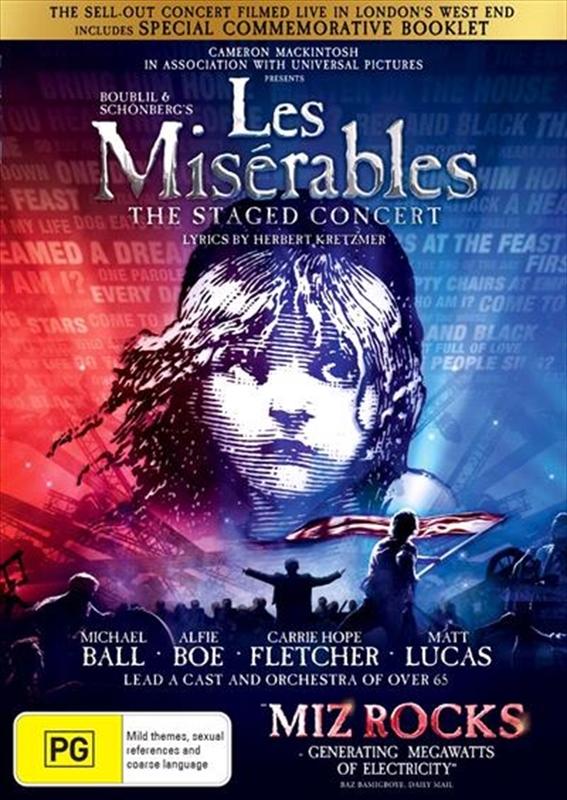 Les Miserables: Live 2019 on DVD
