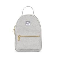 Herschel Supply Co: Nova Mini Backpack - Light Grey Crosshatch