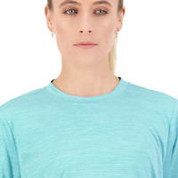 Canterbury: Womens Vapodri LS Tee - Scuba Blue Marl (Size 14)