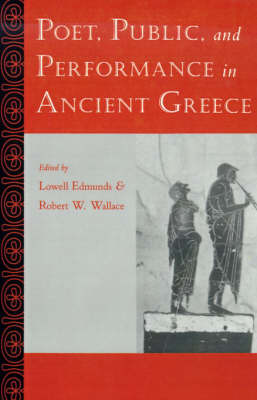Poet, Public, and Performance in Ancient Greece image