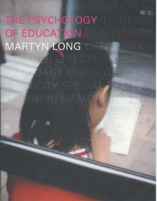 The Psychology of Education by Martyn Long image