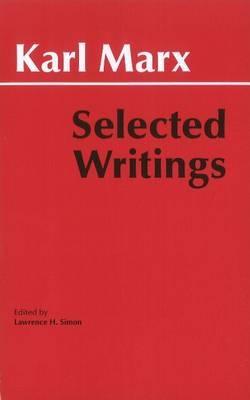 Marx: Selected Writings by Karl Marx image