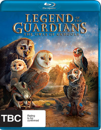 Legend of the Guardians: The Owls of Ga'Hoole on Blu-ray