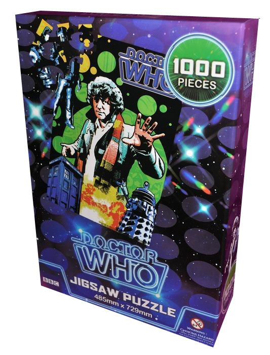 Doctor Who Retro Jigsaw Puzzle - Fourth Doctor