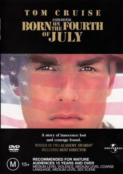 Born On The 4th Of July on DVD