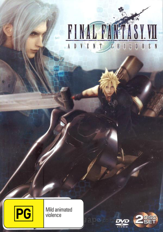 Final Fantasy VII: Advent Children (2 Disc) on DVD