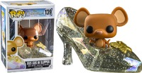 Cinderella Movie - Gus Gus with Clear Sparkle Shoe Pop! Vinyl