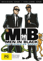 Men In Black - The Animated Series: Season 1 - Vol. 1 on DVD