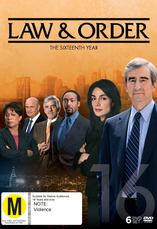 Law and Order - The Sixteenth Year on DVD