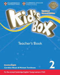 Kid's Box Level 2 Teacher's Book American English by Lucy Frino image