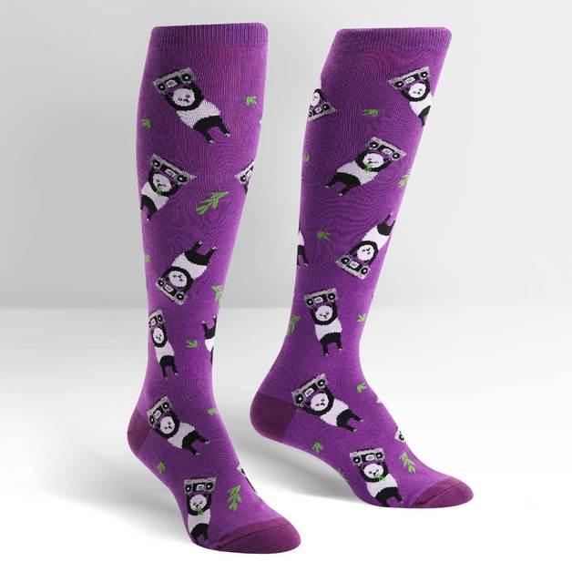 Women's - Panda Anything Knee High Socks