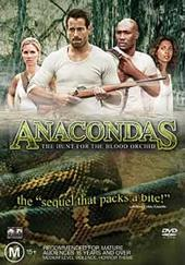 Anacondas: The Hunt For The Blood Orchid on DVD