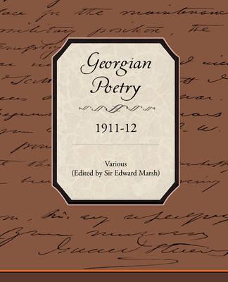 Georgian Poetry 1911 12 by Various ~ image