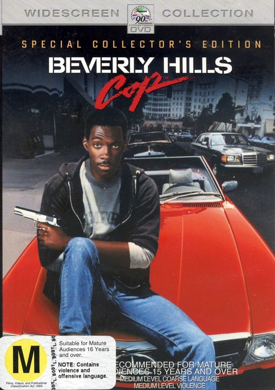 Beverly Hills Cop on DVD