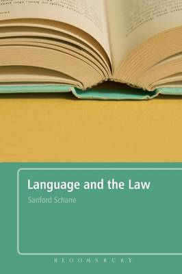 Language and the Law by Sanford A. Schane image