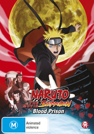 Naruto Shippuden - Movie 5: Blood Prison on DVD