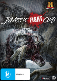Jurassic Fight Club DVD