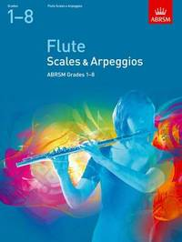 Scales and Arpeggios for Flute: Grades 1-8 image