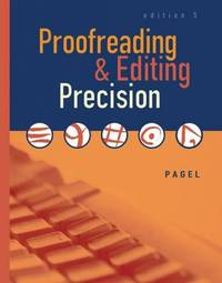 Proofreading and Editing Precision by Pagel