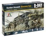 Italeri: 1:72 Bunker Assault - Diorama Set