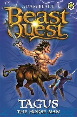 Beast Quest #4: Tagus the Horse-man (1st series) by Adam Blade image
