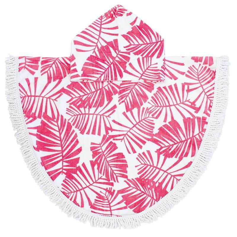 Bambury Printed Shaped Poncho Pal (Holiday Guava) image