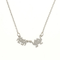 Short Story: Space Invaders - Silver Necklace