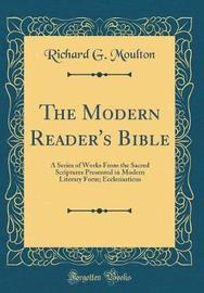 The Modern Reader's Bible by Richard G Moulton image