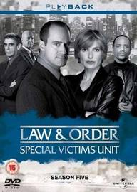 Law & Order - Special Victims Unit: Season 5 (6 Disc Set) on DVD