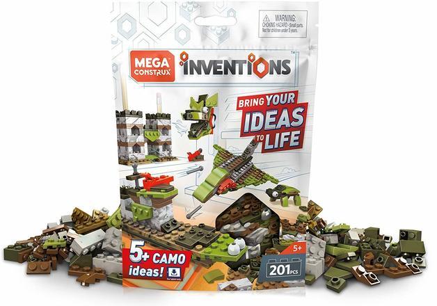 Mega Construx: Inventions - Camo Brick Pack