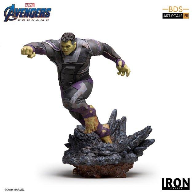 Avengers: Endgame - 1/10 Hulk - Battle Diorama Statue