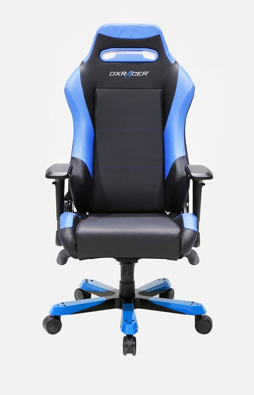 DXRacer Iron Series IS11 Gaming Chair (Black & Blue) for PC
