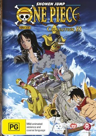 One Piece: Uncut - Collection 21 (Eps 253-263) on DVD
