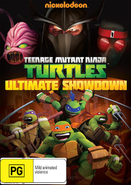 Teenage Mutant Ninja Turtles: Ultimate Showdown on DVD
