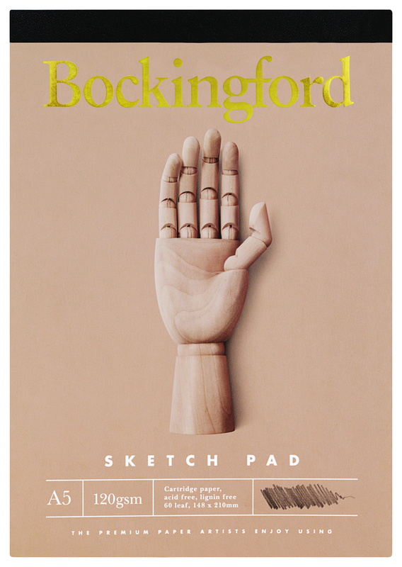 Bockingford: A5 B.21 Sketch Pad