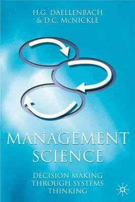 Management Science by Hans G. Daellenbach image