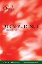 Jurisprudence Q&A by L.B. Curzon image