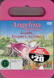Angelina Ballerina: Lights, Camera, Action! on DVD image