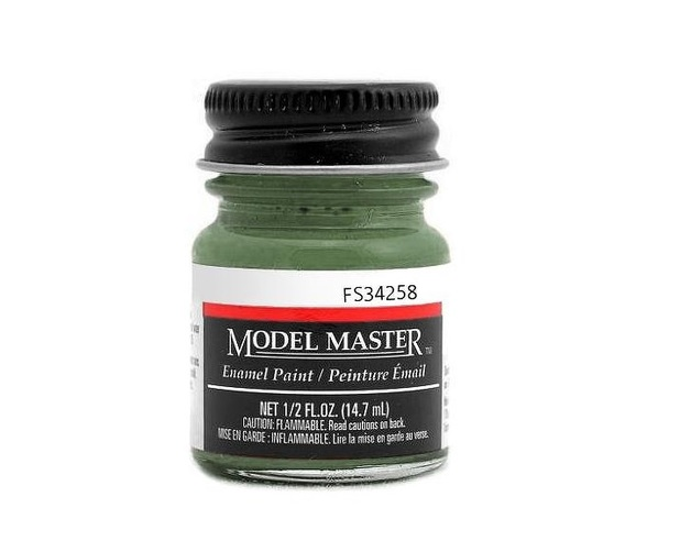 Testors: Enamel Paint - Green (Flat)