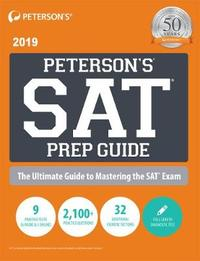 SAT Prep Guide 2019 by Peterson's