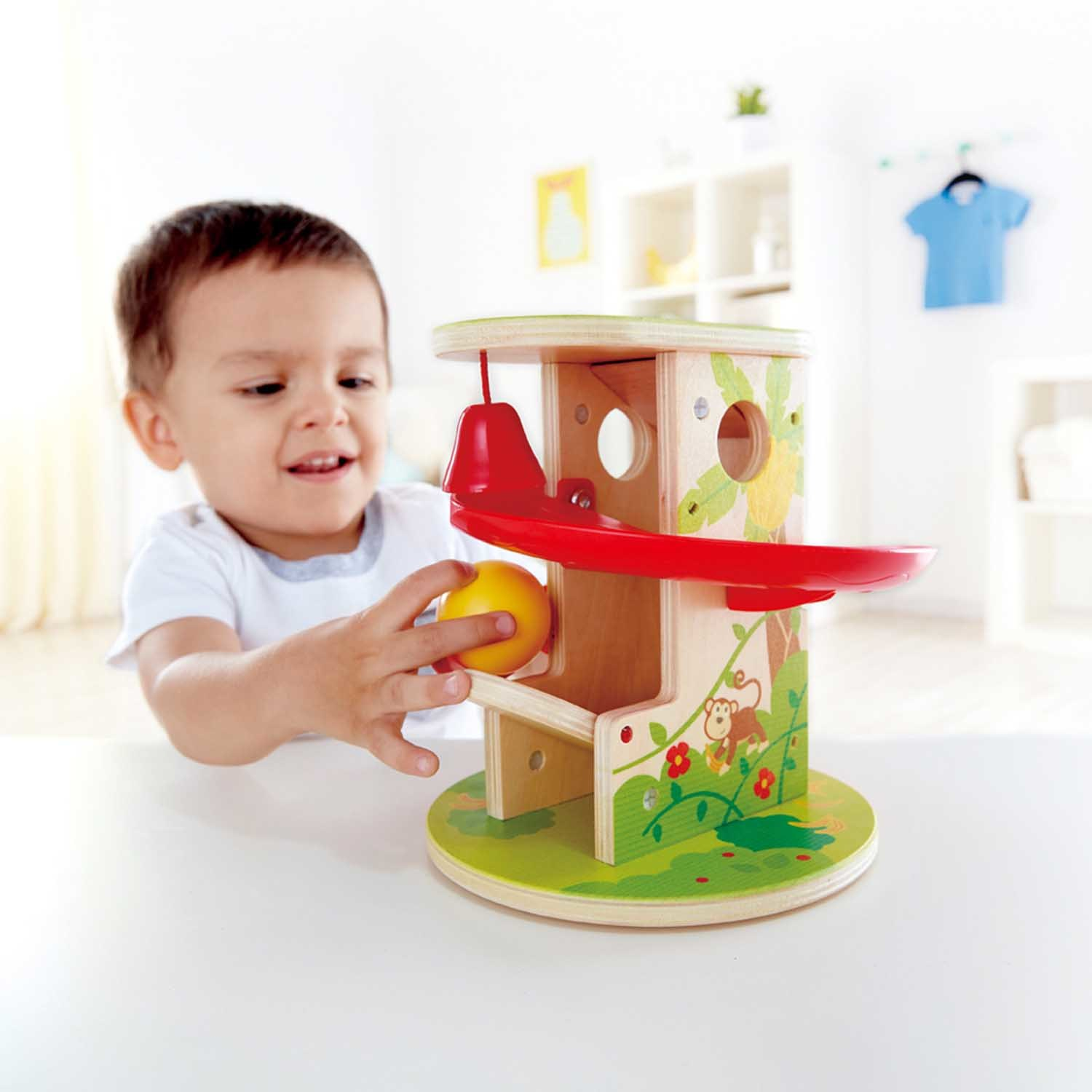 Hape: Jungle Press & Slide - Playset image