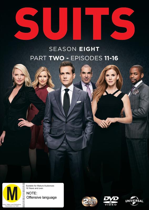 Suits - Season 8: Part 2 on DVD