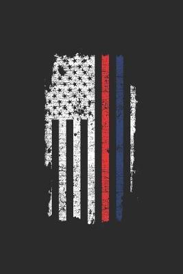 Red Blue Stripes Flag by Police Publishing