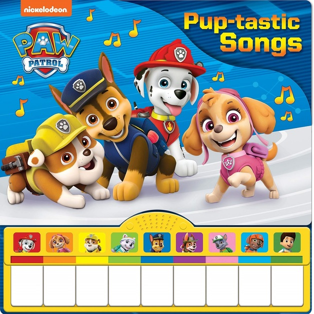 Paw Patrol Pup-Tastic Songs Piano Mini Deluxe Book