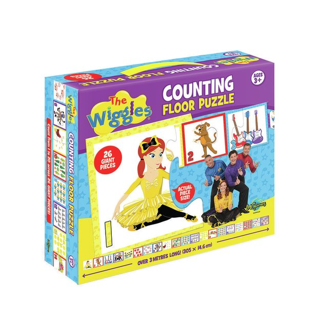 The Wiggles: Counting Floor Puzzle (26 piece)