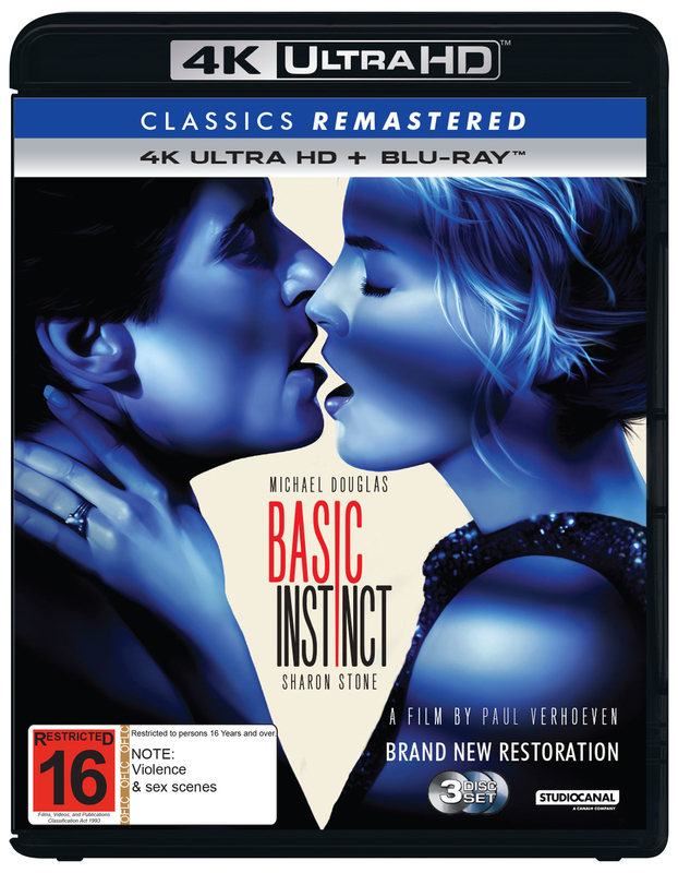 Classics Remastered: Basic Instinct (4K UHD + Blu-Ray) on UHD Blu-ray