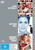 Love Actually / Notting Hill / Bridget Jones's Diary - 3 DVD Collection (3 Disc Set) on DVD