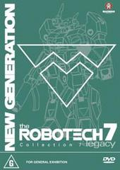 Robotech - New Generation: Collection 7 (3 Disc Box Set) on DVD