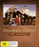Dawson's Creek - The Journey: Seasons 1-6 (34 Disc Box Set) on DVD